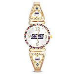 My New York Giants Ultimate Fan Women's Watch