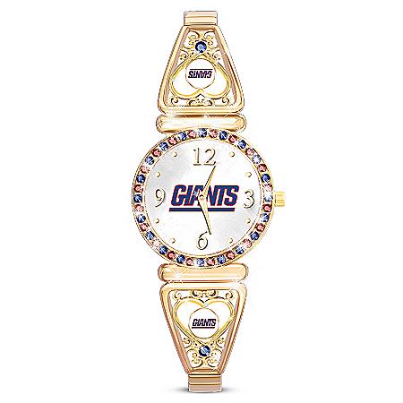 My NFL New York Giants Ultimate Fan Women's Watch