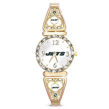 My New York Jets Ultimate Fan Women's Watch
