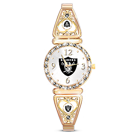 My Oakland Raiders Ultimate Fan Women's Watch
