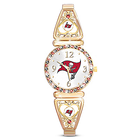 My NFL Tampa Bay Buccaneers Women's Stretch Watch