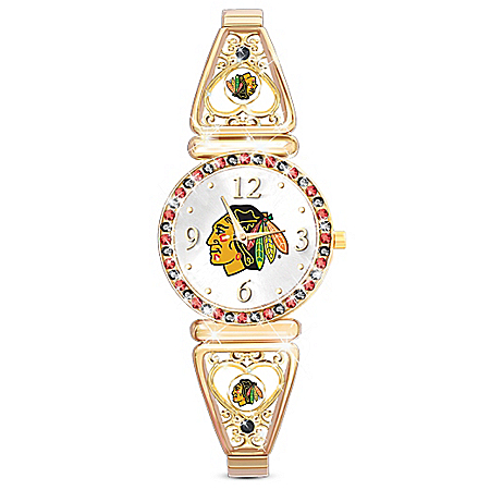My Chicago Blackhawks® NHL® Women's Stretch Watch