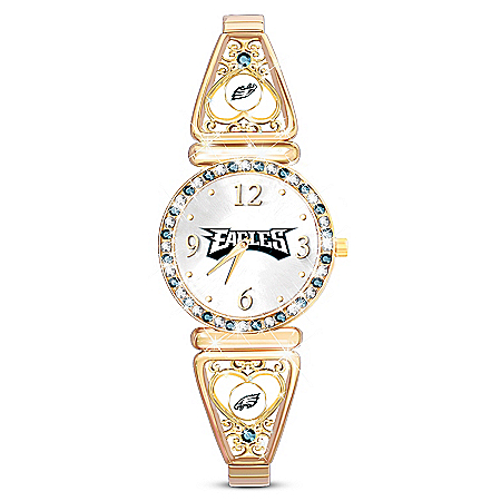 My Philadelphia Eagles Ultimate Fan Women's Watch