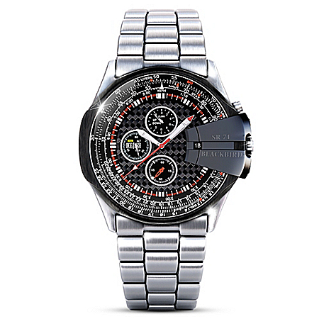 Smithsonian Reconnaissance Collector's Edition Men's Chronograph Watch