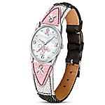Everlasting Hope Women's Leather Watch