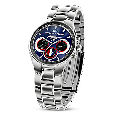Generations Of Pride Ford Mustang Men's Chronograph Watch