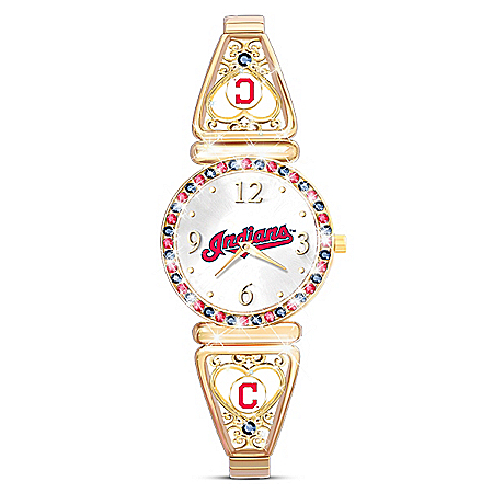 My Cleveland Indians MLB Women's Stretch Watch