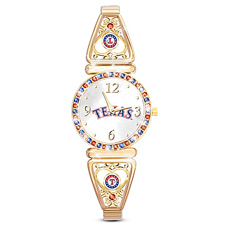My MLB Texas Rangers Women's Watch