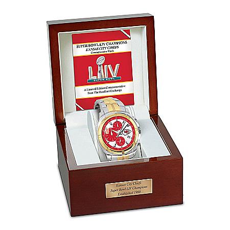 Super Bowl LIV Champions Chiefs Commemorative Watch