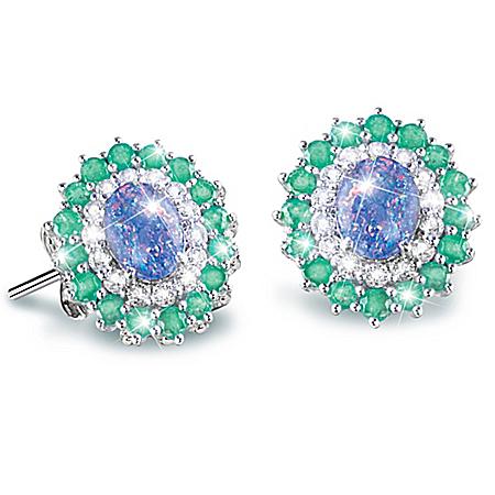 Alfred Durante Opal Island Women's Gemstone Earrings