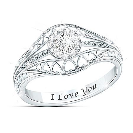 The Promise Women's Diamond Ring