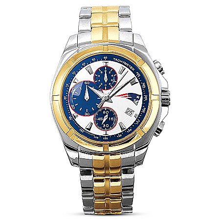 New England Patriots NFL Super Bowl LI Champions Men's Watch