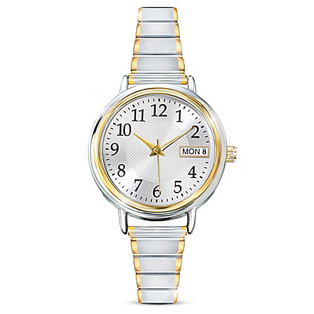 Classic Daytimer Water Resistant Personalized Women's Watch