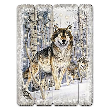 Majestic Wonder Timber Wolf Wall Decor