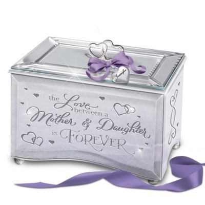 Bradford Exchange The Love Between A Mother & Daughter Is Forever Personalized Mirrored