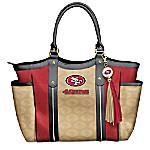 Touchdown NFL San Francisco 49ers! Shoulder Tote Bag