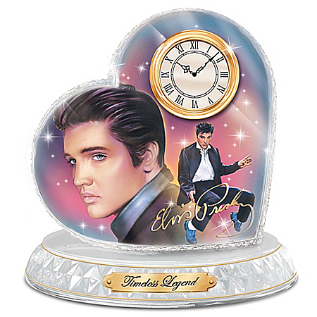 Timeless Legend Elvis Presley Clock