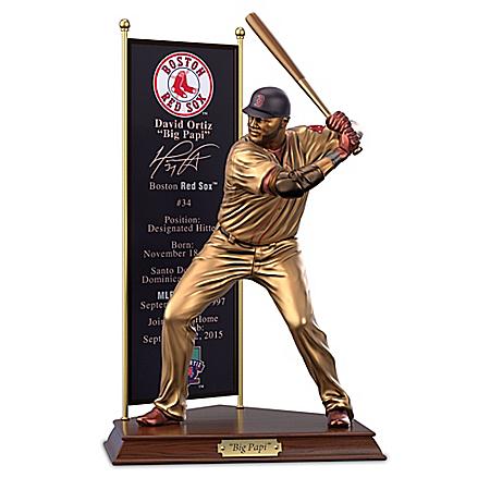 Boston Red Sox David Ortiz Cold-Cast Bronze Sculpture