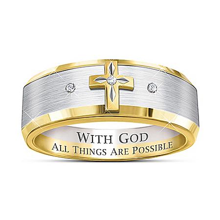 Trinity Men's Diamond Ring