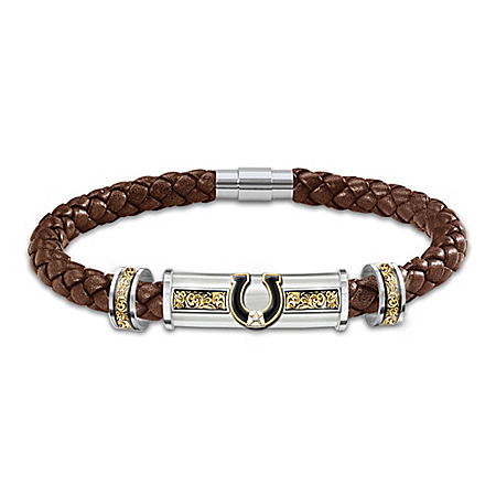 Western Pride Leather Bracelet