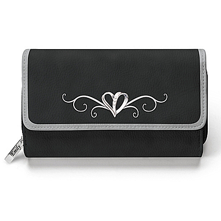 Today, Tomorrow, Always My Granddaughter Women's Personalized Wallet