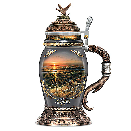 Terry Redlin Simple Pleasures Heirloom Porcelain Stein