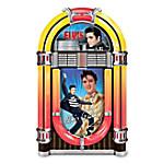 Elvis Rocks Forever! Illuminated Jukebox Music Box
