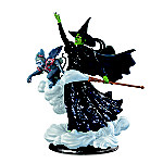 THE WIZARD OF OZ WICKED WITCH Illuminated Sculpture