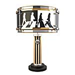 The Beatles Abbey Road Album Drum Table Lamp