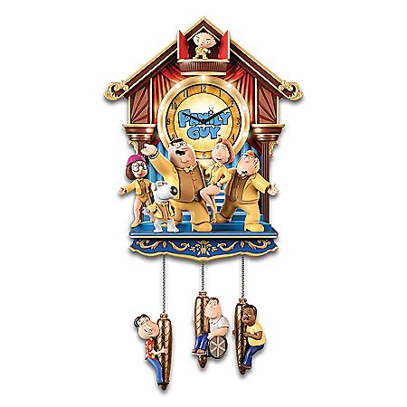 Family Guy Handcrafted Cuckoo Clock