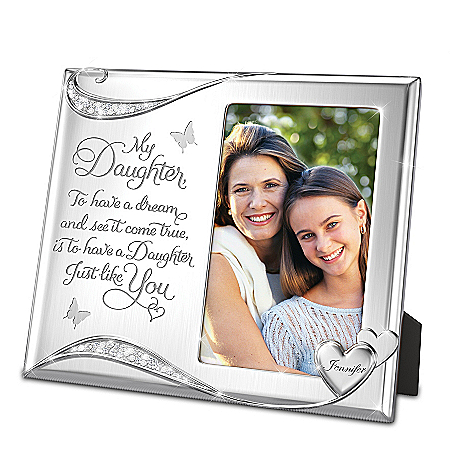 My Daughter, You???re A Dream Come True Personalized Frame