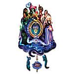 Disney Classic Villains Timeless Treachery Illuminated Cuckoo Clock