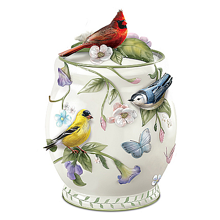 Songbird Delights Cookie Jar 126082001
