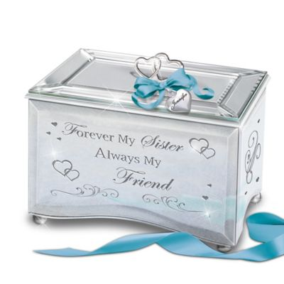 Bradford Exchange Forever My Sister, Always My Friend Personalized Mirrored