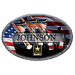 Army Handcrafted Personalized Welcome Sign