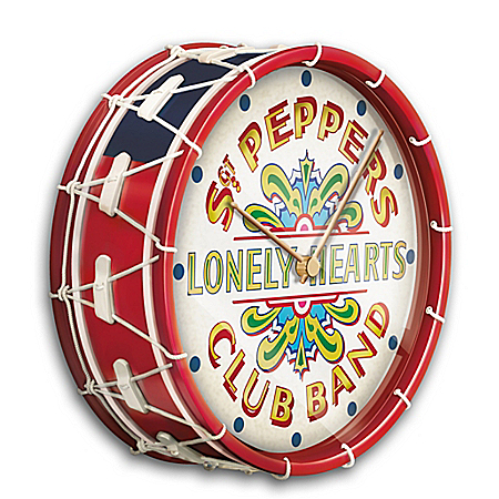 The Beatles Sgt. Pepper's Drum Wall Clock