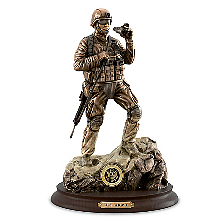 U.S. Army Pride Cold-Cast Bronze Sculpture