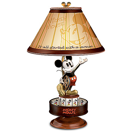 Disney Mickey Mouse Animation Magic Collectible Motion Lamp