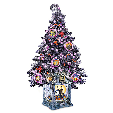 Delightful And Frightful Tabletop Tree