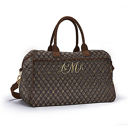 Alfred Durante Quilted Women's Personalized Weekender Tote Bag