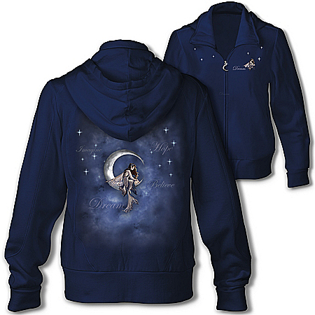 Moon Fairy Women's Hoodie (Bradford - only USA shipping)