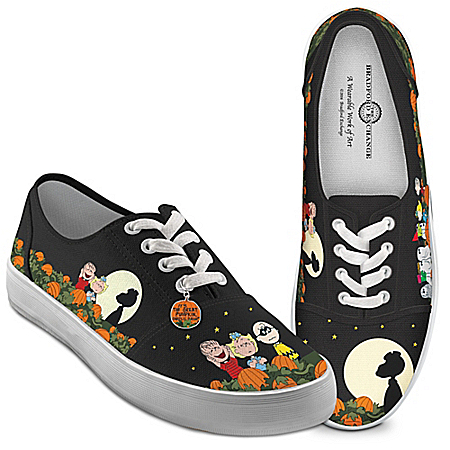 PEANUTS Charlie Brown Great Pumpkin Women's Shoes