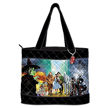 THE WIZARD OF OZ Women's Quilted Tote Bag