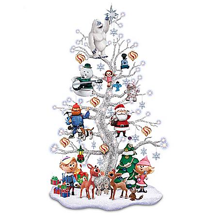 Rudolph's Happy Holly Jolly Tabletop Tree