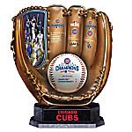 2016 World Series Champions Chicago Cubs Baseball Glove Sculpture