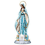 Blessed Virgin Mary Religious Mosaic Sculpture