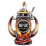 AC/DC Back In Black Red Hot Rock Tribute Stein