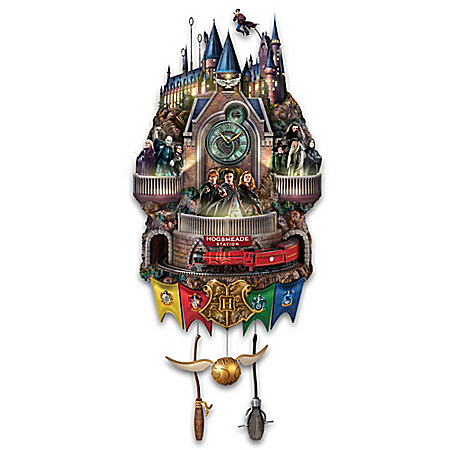 HARRY POTTER Illuminated Cuckoo Clock