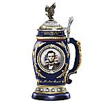President Abraham Lincoln Heirloom Porcelain Stein