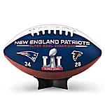 NFL Super Bowl LI Champions New England Patriots Football